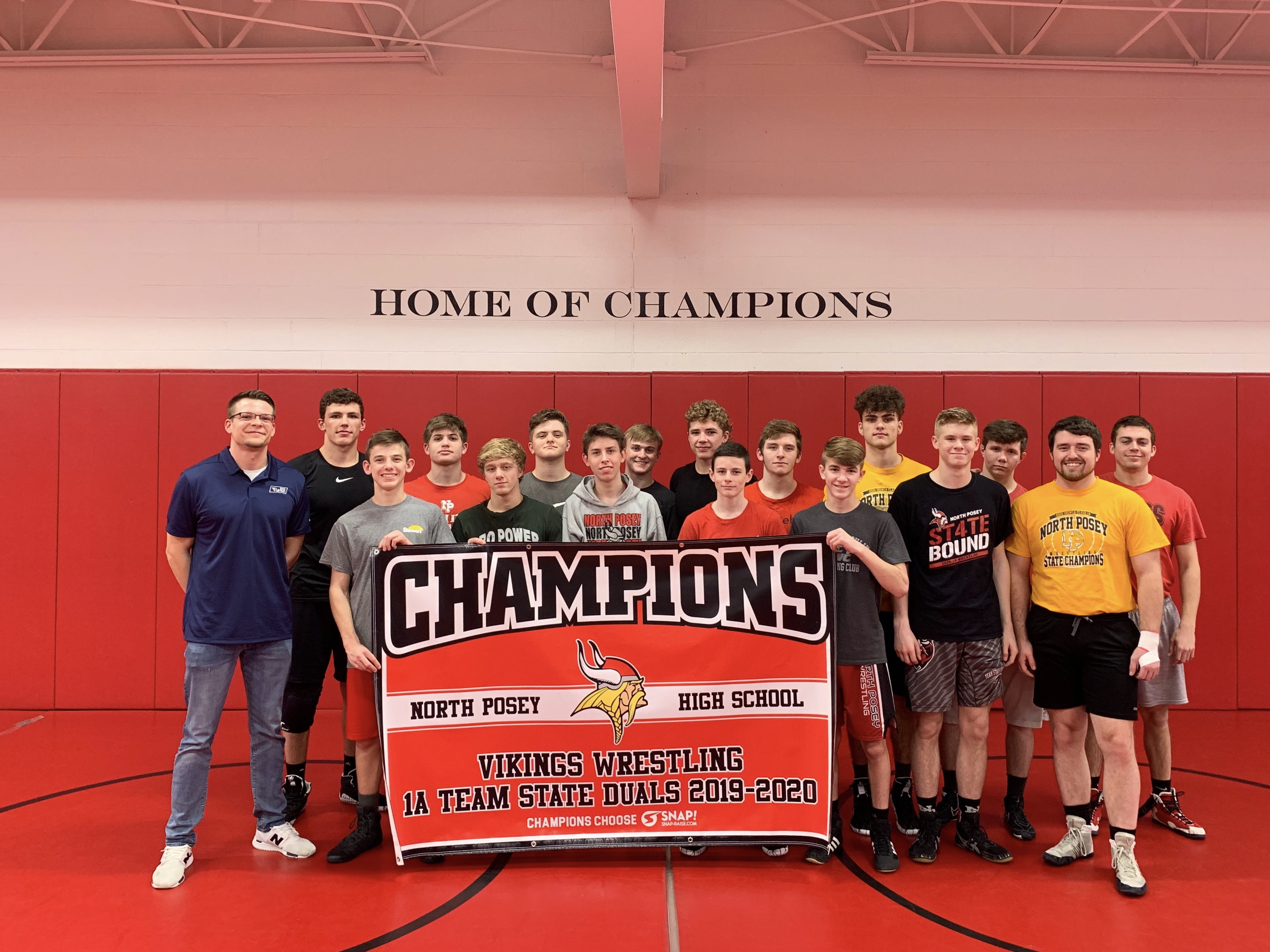 Championship Banner_North Posey Wrestling